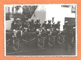 PHOTO ORIGINALE - BRIGADE DE GENDARMERIE MOTORISÉE - GENDARME MOTO MOTARD - Guerra, Militari
