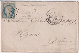 GUERRE DE 1870-PARIS-COMMUNE-3 Enveloppes Pour NYONS-DROME +++ - Guerres