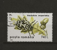 Roumanie Oblitéré N° 4315 Insecte Lot 46-86 - Gebruikt