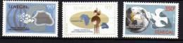 Sénégal N° 624 / 26  XX Année Mondiale Des Communications  La Série Des 3 Valeurs Sans Charnière, TB - Senegal (1960-...)