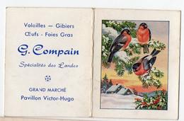 Bordeaux (33 Gironde) Calendrier 1959 G COMPAIN  Produits Landais (PPP28115) - Small : 1941-60