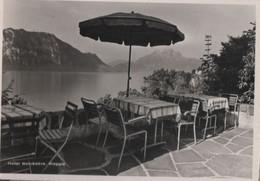 Schweiz - Weggis - Hotel Belvedere, Gartenterrasse - 1959 - LU Lucerne