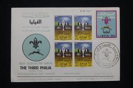 LIBYE - Enveloppe FDC En 1962 - Scoutisme - L 94234 - Libye