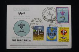 LIBYE - Enveloppe FDC En 1962 - Scoutisme - L 94235 - Libye
