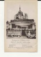 50- 2562   -  LE  MONT  SAINT - MICHEL     - Restaurant  Poulard - Le Mont Saint Michel