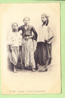 ALGERIE - ALGER - 3 Jeunes Mauresques - Photo Arnold VOLLENWEIDER N° 135 - Dos Simple - 2 Scans - Algeri