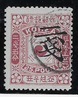 Corée N°31 - Oblitéré - TB - Korea (...-1945)