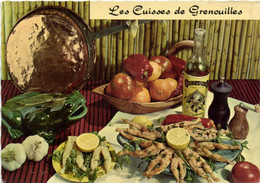 RECETTE  LES CUISSES DE GRENOUILLES (à La Provencale) Emilie Bernard  RV - Recetas De Cocina