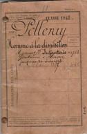 Classe 1883 - LIVRET MILITAIRE Pour Pierre PELLERAY - ALENÇON - - Documentos Históricos