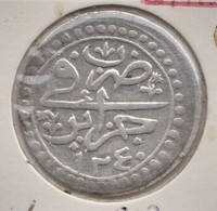 @Y@   Algerije    Budju / 6 Mazumus  1824  Ah 1240  Km 67  (1936) - Algeria