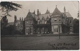ENGLAND RPPC TADWORTH Villa Sainte Monique Tennis - Surrey
