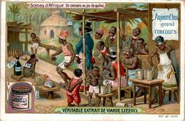 CHROMO LIEBIG - Scènes D'Afrique Concours Au Jeu De Quilles Série Belge N°845 A) - Année 1906 - Liebig