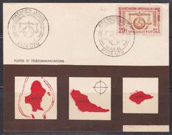 Premier Jour Droit De L'Homme, Cachet Mata-Utu (ref L A184) - Covers & Documents