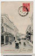 SINGAPOUR - CPA BON ETAT Singapore - Battery Road - L  CIRCULEE  1912 - Singapore