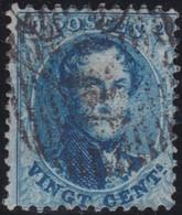Belgie   .    OBP  .   15 B       .    O   . Gebruikt  .   /   .   Oblitéré - 1863-1864 Medallions (13/16)