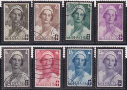 Belgie   .    OBP  .    411/418      .    O   . Gebruikt  .   /   .   Oblitéré - Used Stamps