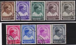 Belgie   .    OBP  .    438/446     .    O   . Gebruikt  .   /   .   Oblitéré - Used Stamps