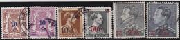 Belgie   .    OBP  .    6 Zegels   .    O   . Gebruikt  .   /   .   Oblitéré - Used Stamps