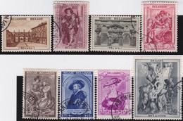 Belgie   .    OBP  .   504/511      .    O   . Gebruikt  .   /   .   Oblitéré - Used Stamps