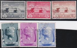 Belgie   .    OBP  .   532/537      .    O   . Gebruikt  .   /   .   Oblitéré - Used Stamps
