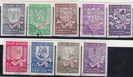 Belgie   .    OBP  .   547A/555A    .    O   . Gebruikt  .   /   .   Oblitéré - Used Stamps