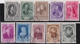 Belgie   .    OBP  .   573/582     .    O   . Gebruikt  .   /   .   Oblitéré - Used Stamps