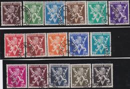 Belgie   .    OBP  .   674/689    .    O   . Gebruikt  .   /   .   Oblitéré - Used Stamps