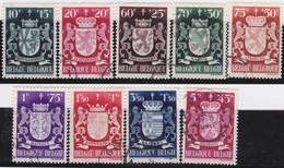 Belgie   .    OBP  .   716/724     .    O   .    Gebruikt  .   /   .   Oblitéré - Used Stamps