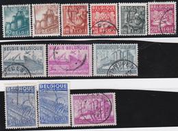 Belgie   .    OBP  .   761/772       .    O   .    Gebruikt  .   /   .   Oblitéré - Used Stamps