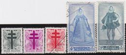 Belgie   .    OBP  .   787/791      .    O   .    Gebruikt  .   /   .   Oblitéré - Used Stamps