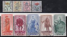Belgie   .    OBP  .   814/822     .    O   .    Gebruikt  .   /   .   Oblitéré - Used Stamps