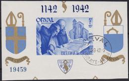 Belgie   .    OBP  .     Blok 19    .     O   .    Gebruikt  .   /   .   Oblitéré - Blocks & Kleinbögen 1924-1960