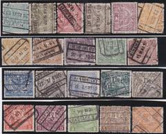 Belgie   .    OBP  .    TR 79/99       .     O   .    Gebruikt  .   /   .   Oblitéré - 1915-1921