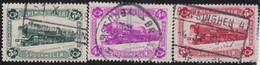 Belgie   .    OBP  .    TR 175/177      .     O   .    Gebruikt  .   /   .   Oblitéré - 1923-1941