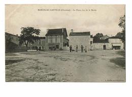 Marcillac Lanville La Place Vue De La Mairie - Altri Comuni
