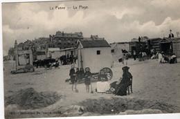 BELGIQUE-LA PANNE-LA PLAGE- ANIMEE - De Panne