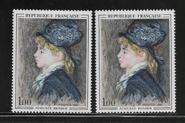 FRANCE  ( FVT - 418 )  1968  N° YVERT ET TELLIER  N° 1570  N** - Varieties: 1960-69 Mint/hinged