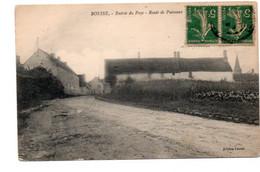 CPA Ed Fauvin. Boesses   Route De Puiseaux, Entrée Du Pays  Timbres Recto Semeuses Vertes 19189 - Unclassified