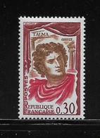 FRANCE  ( FVT - 428 )  1961  N° YVERT ET TELLIER  N° 1302a  N** - Varieties: 1960-69 Mint/hinged