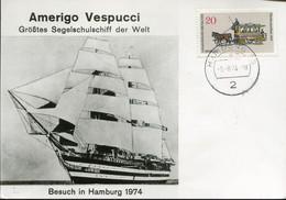Germany Special Card - Transport Ship - Navy School - Maritime