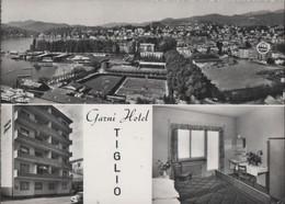Schweiz - Lugano - Garni Hotel Tiglio - Ca. 1960 - TI Tessin