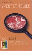 Yvert Et Tellier Livret De L'expert 2001 Jeux Olympiques De 1924 - Other Books