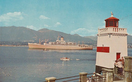 Vancouver Harbour - British Columbia B.C. Canada - Lighthouse Phare Boat Bateau - Unused - 2 Scans - Sin Clasificación