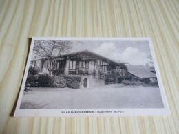 CPA Guéthary (64).Villa Maricharrenia. - Guethary