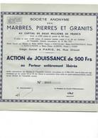 Lot De 4 Titres. Divers Thèmes, Bon état. Voir Scans Recto, Verso. - Sin Clasificación