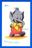 Disney-54P103   Chocolat Tobler, L'éléphant ELMER, Gros Noeud Papillon, BE - Unclassified
