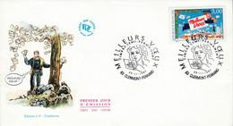 FDC 1997 MEILLEURS VOEUX DU FACTEUR - 1990-1999