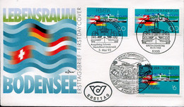 Germany Austria Suisse Special Cover - Transport Ship - Excursion Boat - Maritime