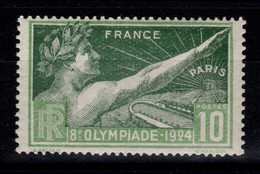 JO De Paris 1924 YV 183 N** Cote 8 Euros - Ungebraucht