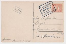 Treinblokstempel : Roosendaal - Amsterdam E 1919 - Non Classificati